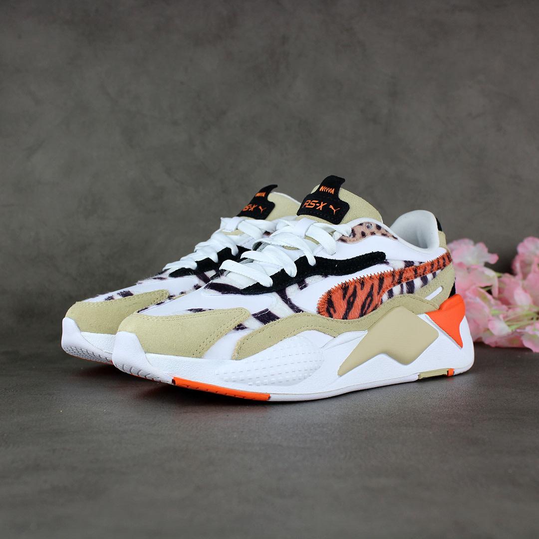 Puma RS-X3 'Wild Cats' Wn's (Pale Khaki/Puma White) 373953-01