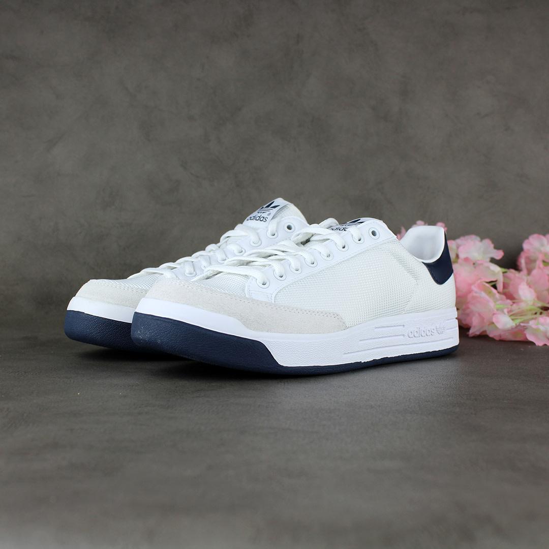 Adidas Rod Laver (White/Collegiate Navy) G99864