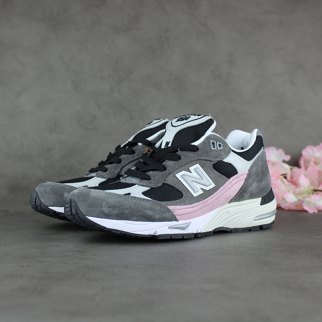 New Balance W991KWG 'Made in England' (Grey/Black/Rose)