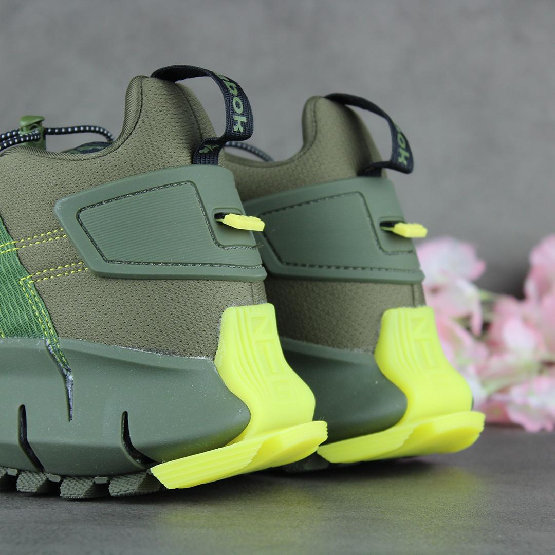 Reebok Zig Kinetica Edge (Army Green/Black/Utility Yellow) FV3836