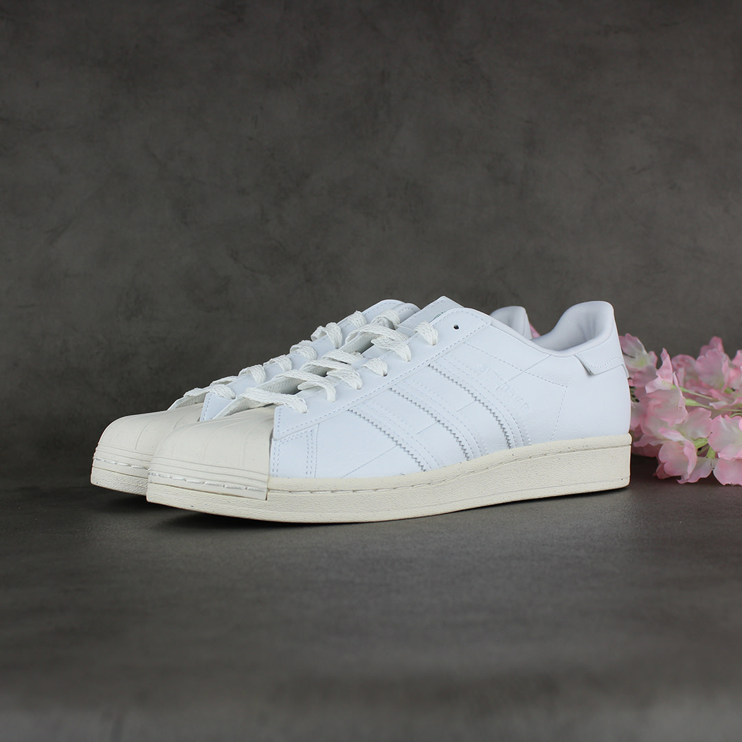 Adidas Superstar (Cloud White/Off White/Green) FW2292