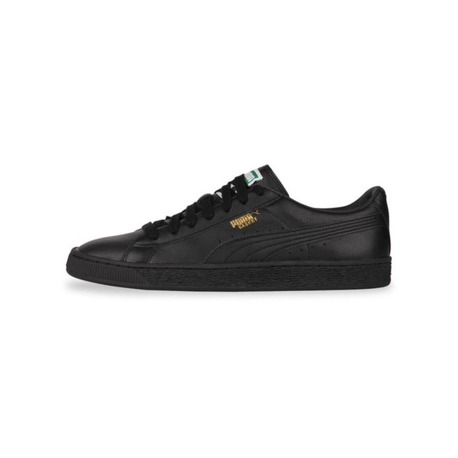 Puma Basket Classic LFS (Black/Team Gold) 354367-19