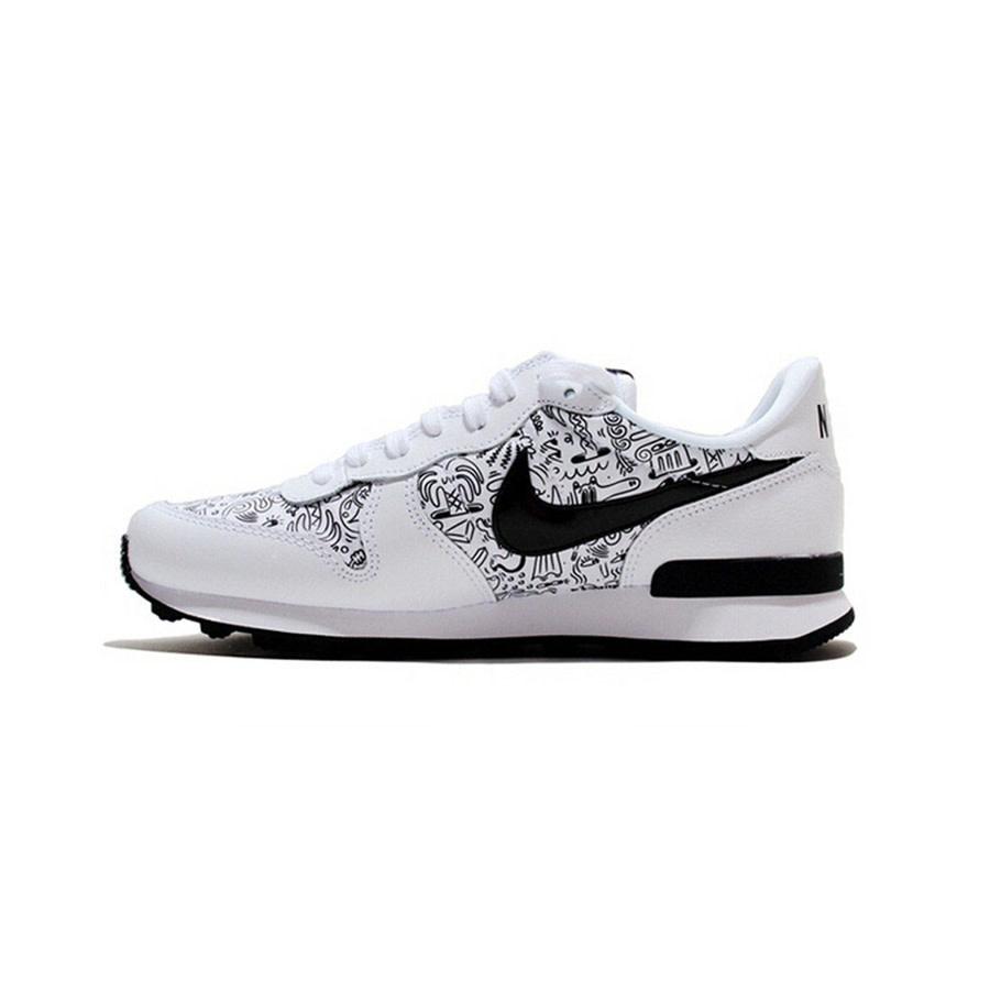 Nike Internationalist Print W (White/Black) 833814-101