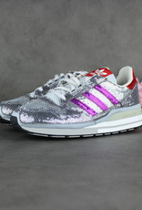 Adidas ZX 500 (Clear Grey/Shock Purple/Collegiate Red) FY4824