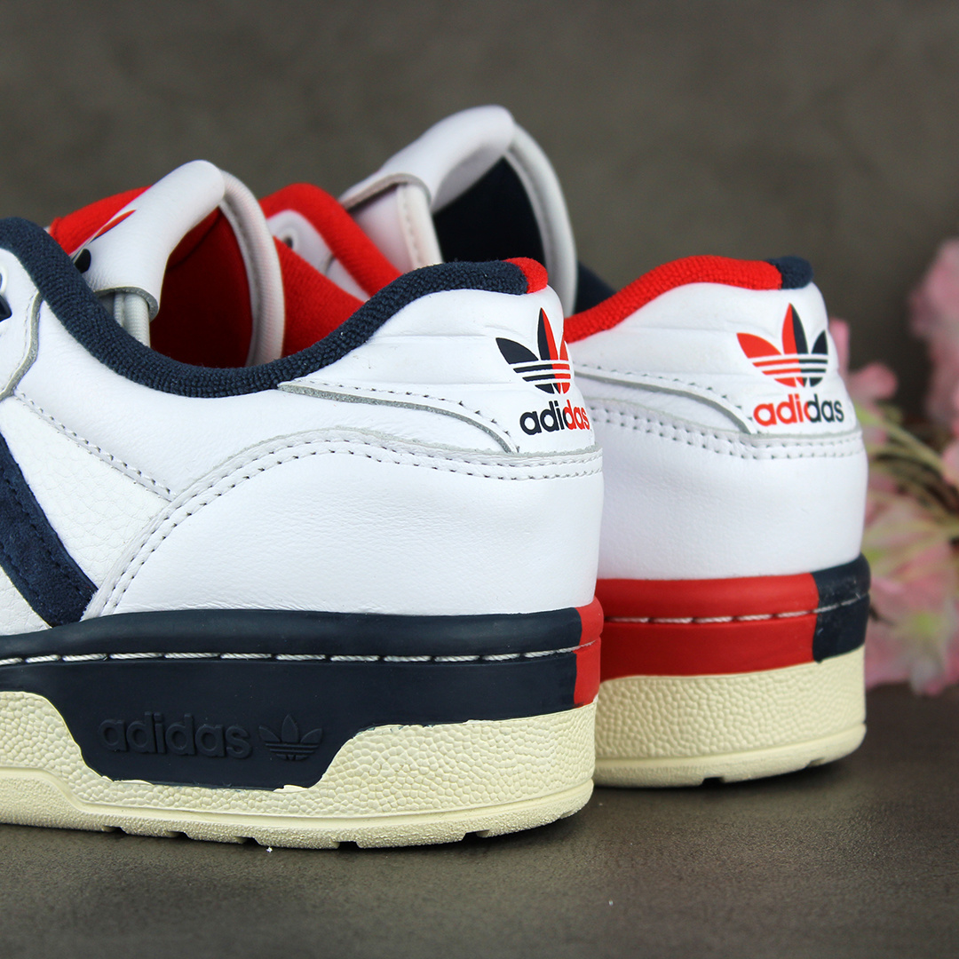 Adidas Rivalry Loe Premium (Footwear White/Core White/Navy) FY8031