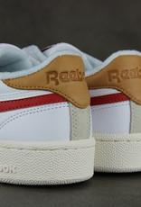 Reebok Club C Revenge (White/Mars Red/Chalk) FY9418