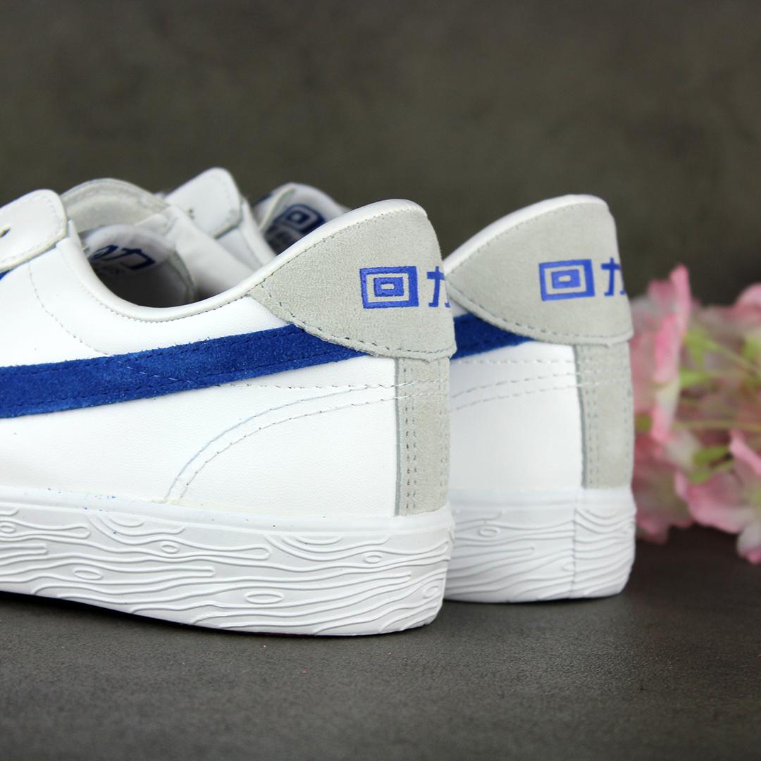 Warrior Shanghai Dime Leather (White/Blue)