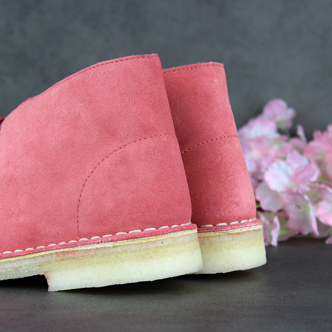 Clarks Desert Boot L (Dark Blush) 26156685