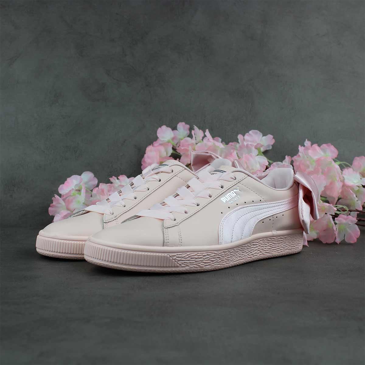 Puma Basket Bow W (Rose) 367319-02