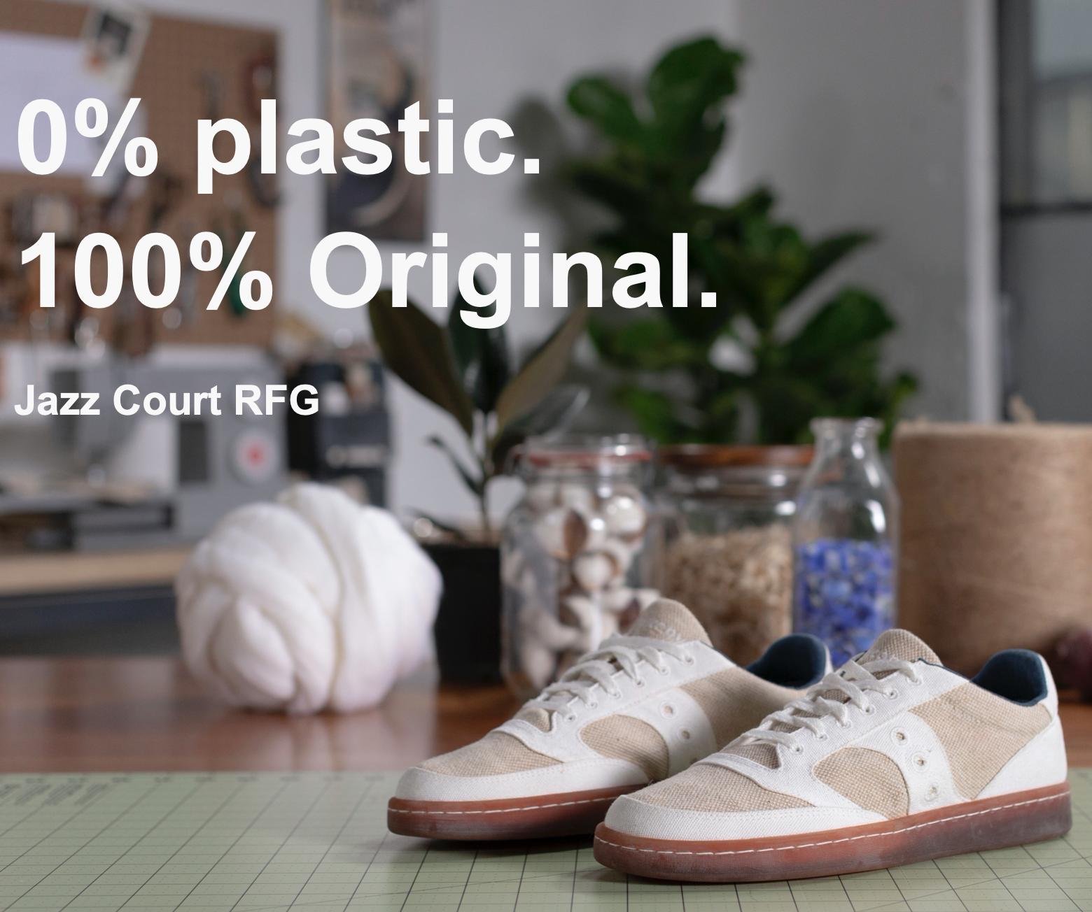 Saucony Jazz Court RFG 0% Plastic (Naturel Gum) S70562-1