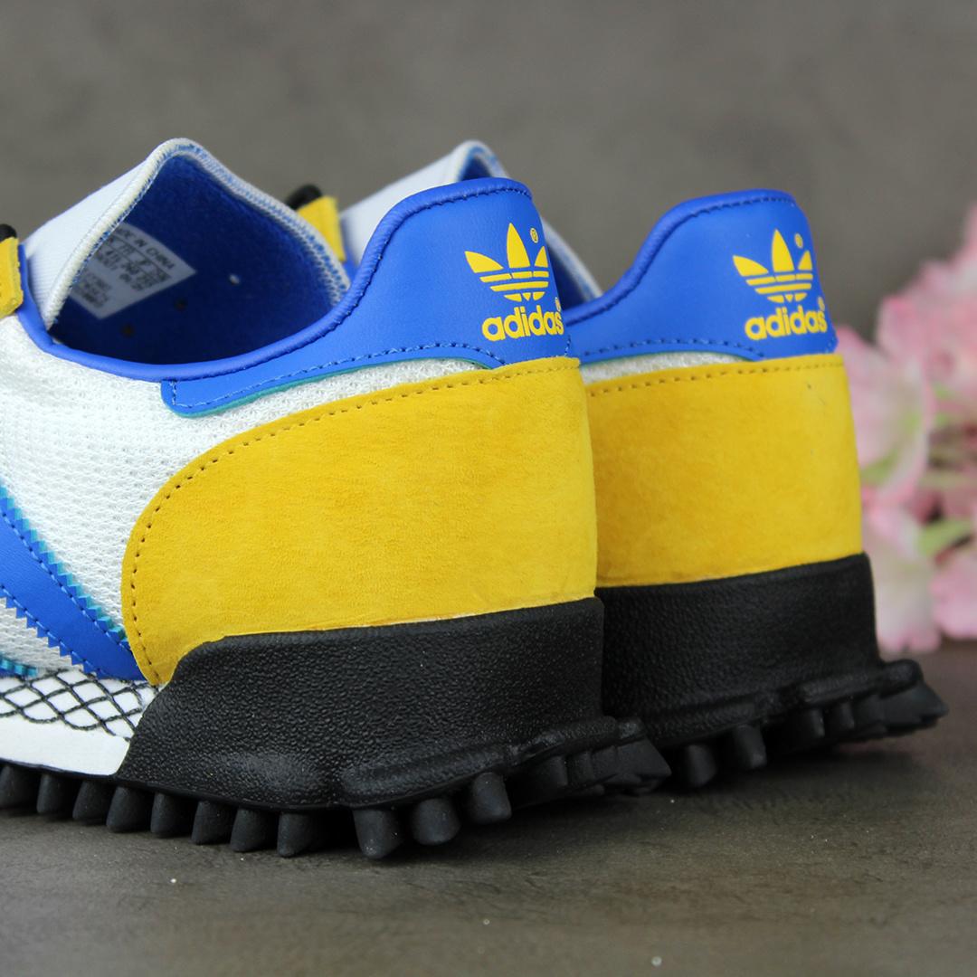 Adidas Marathon TR (White/Bold Gold-Blue) FY3683