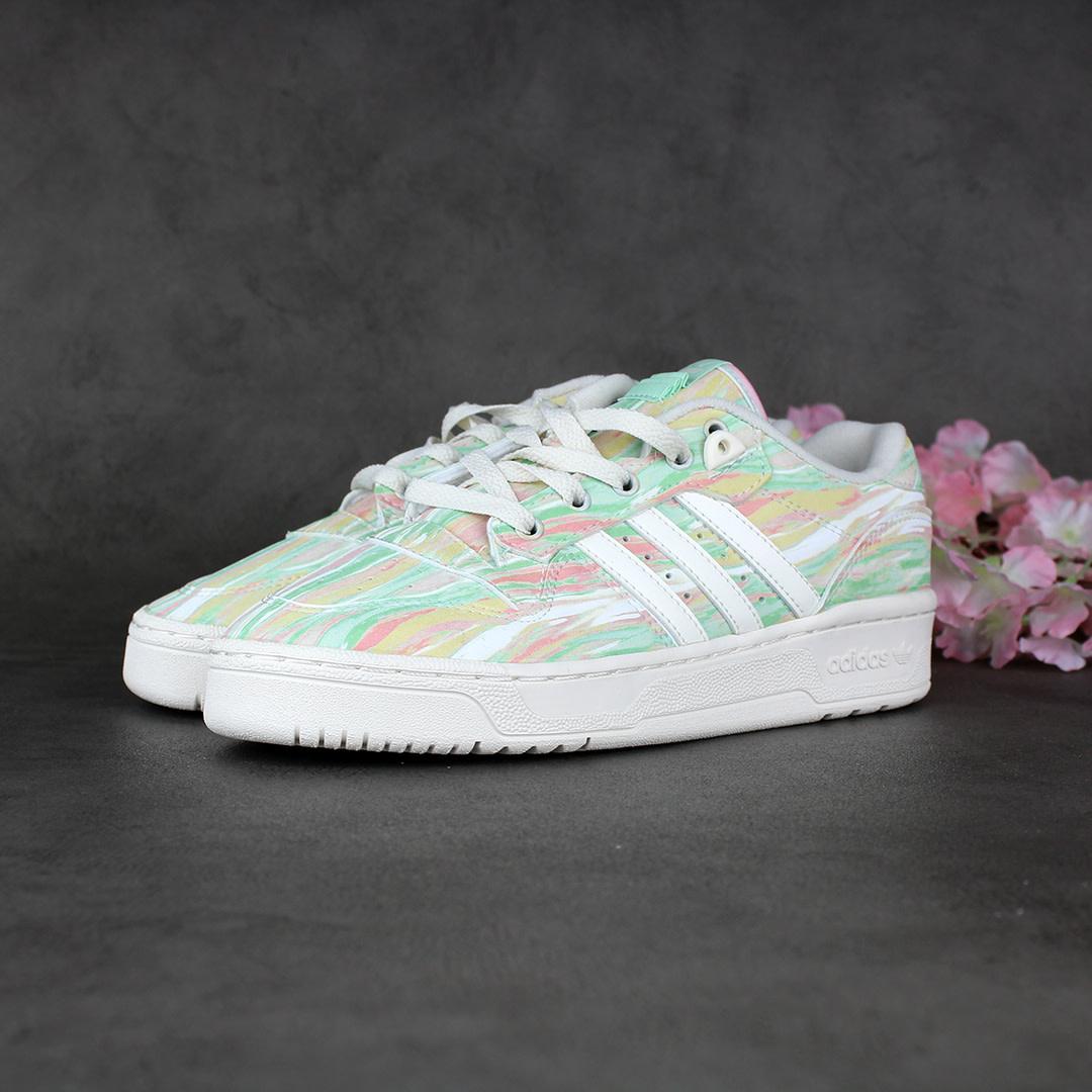 Adidas Rivalry Low (Chalk White/Frozen Green) GW0167