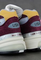 "New Balance M992CA ""Made in USA"" (Burgundy/Yellow)"