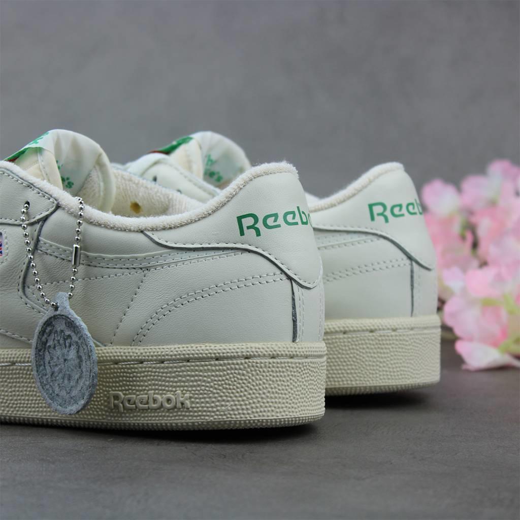 Reebok Club C Vintage (Chalk/Paper White-Green) DV6434