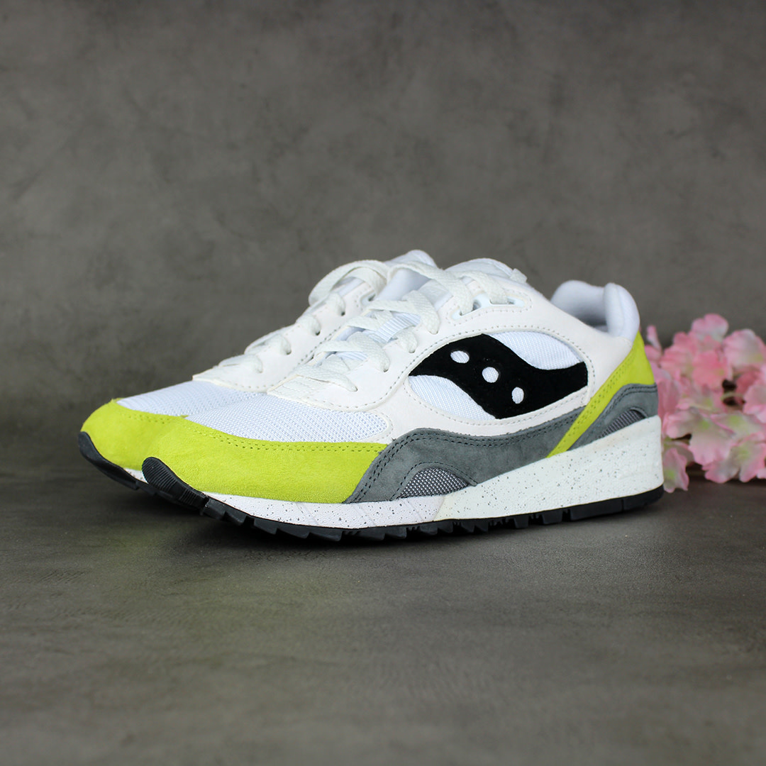 Saucony Shadow 6000 (White/Primrose) S70441-12