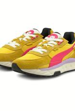Puma Wild Rider Vintage (Super Lemon/Glowing Pink) 381595-05