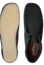 Clarks Wallabee Boot W (Black Suede) 26155517