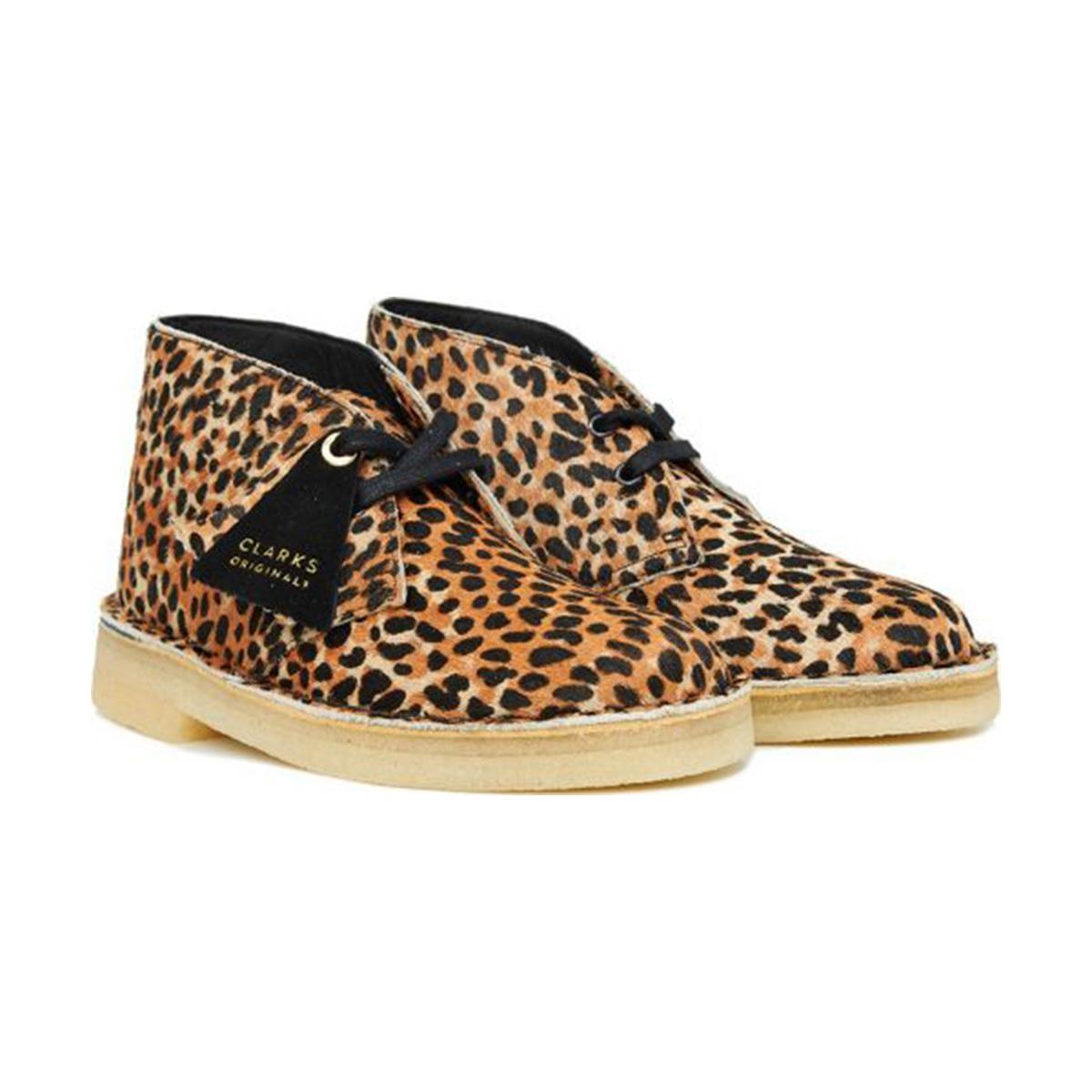 Clarks Desert Boot L (Leopard Pony) 26154161