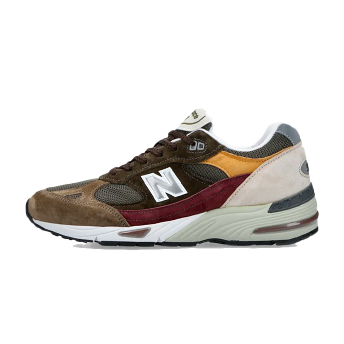 """New Balance M991GYB """"Desaturated Pack"""" (Green/Yellow/Brown)"""