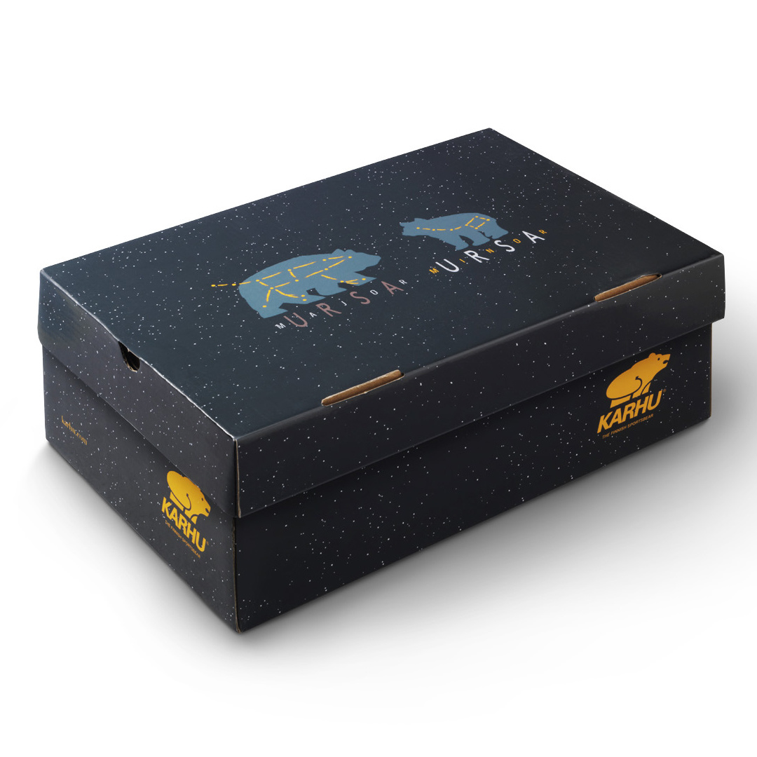 Karhu Fusion 2.0 'Ursa Minor Pack' (Silver/Jet Black) F804110