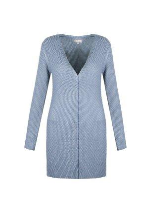 Amber Vest Jeans Blue