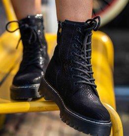 Festive Boots Black