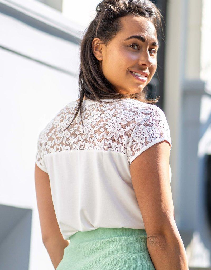 Amelia Shirt White