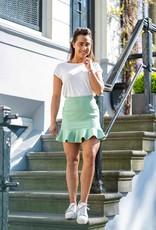Emma Ruffle Skirt Green