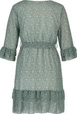 Eva Dress Hearts Green