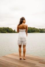 Ibiza Dress White