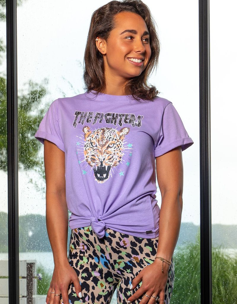 The Fighters Shirt Lila