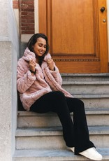 Faux Fur Jacket Pink