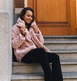 Faux Fur Jacket Pink
