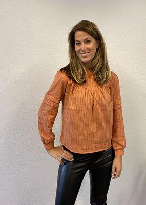 Oranje blouse