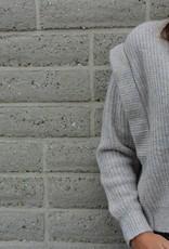 Vest beige/grijs