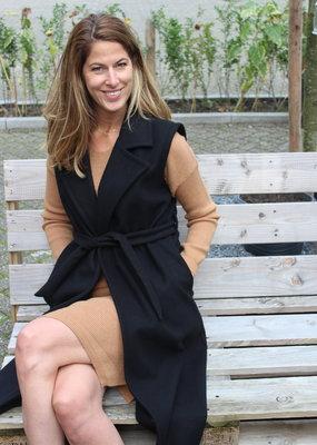Gilet jas zwart | Anna