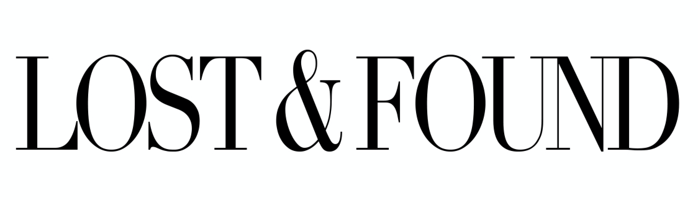 Lost & Found Collection