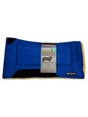 Reinsman 246 Square Contour Fellpad, blau