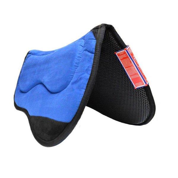 Reinsman Blaues M2 Lite Westernpad mit Mikrofaser-Oberseite und Tacky Too (Neopren) Unterseite