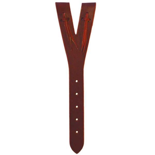 Y - Off Billet aus Leder