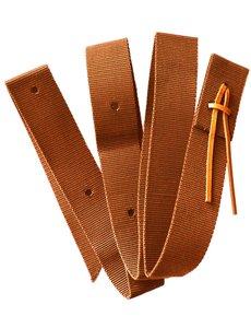 Nylon Tie Strap, braun