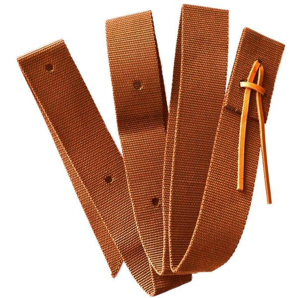 Nylon Tie Strap - braun