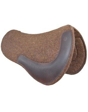 Horse Gear Allround Filzpad, rund, naturbraun