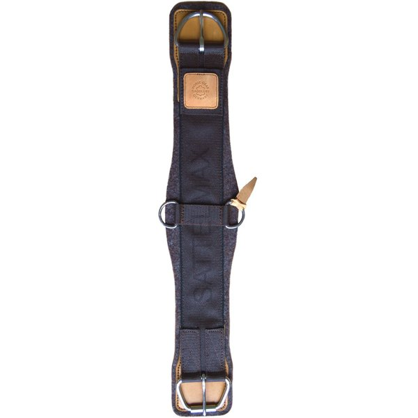 Horse Gear Wollfilz Westernsattelgurt Pro Reiner, naturbraun