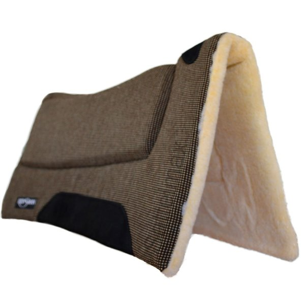 Reinsman Superflex Pad - mit Fellunterseite / gemustert