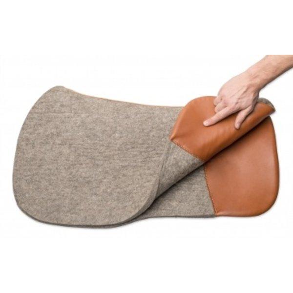 Horse Gear Horse Gear Filzpad mit Leder gegen Haarbruch