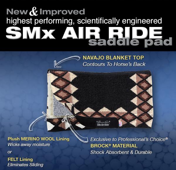 Westernpad von Professional Choice mit SMx Air Ride Technik, was macht sie so einzigartig ?