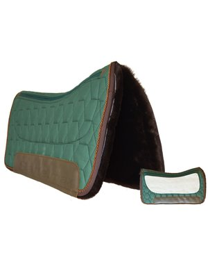 Mattes MATTES RIO PECOS, Square Westernpad Gr. L racing green