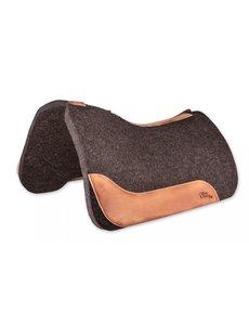 Horse Gear Filzpad SixPro Horse Gear, Filz: naturbraun, Leder: natur geölt