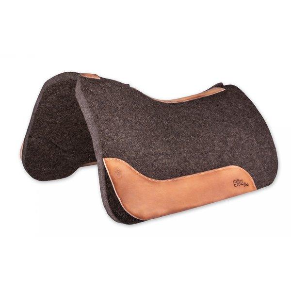 Horse Gear Six Pro Filz-Westernpad von Horse Gear, 100% Schurwolle